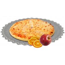 Осетинский постный пирог сладкий с яблоками и апельсинами 1200 гр.