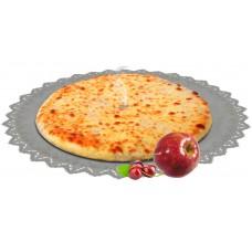 Осетинский пирог сладкий с яблоками и вишней 1200 гр.