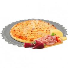 Пирог с курицей, грибами и сыром 1000 гр.