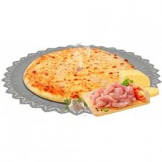 Пирог с курицей, грибами и сыром 1200 гр.