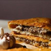 Осетинский пирог с рубленым мясом 1200 гр.